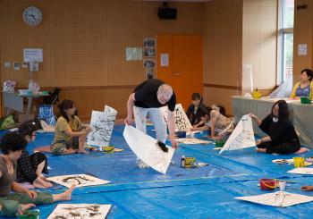 Sidd Murray-Clark Workshop photo (C) Noguchi Satoko